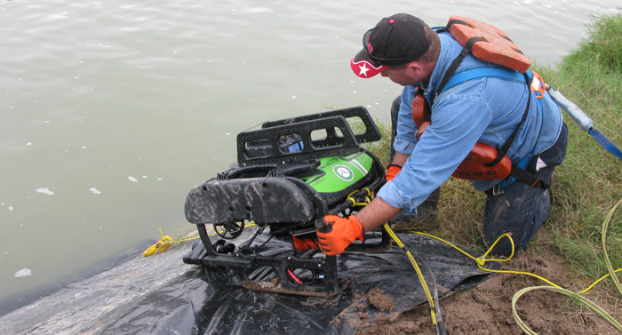 Land Launched ROV